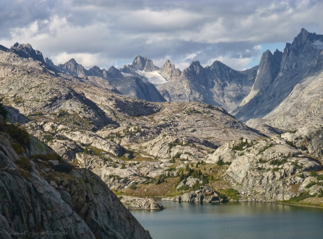 Titcomb Basin and Island Lake