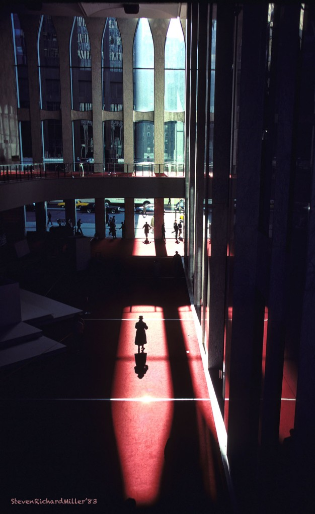 World Trade Center lobby, 1983