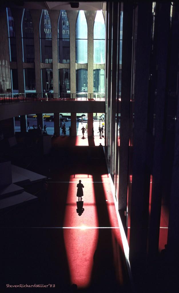 World Trade Center lobby, 1983