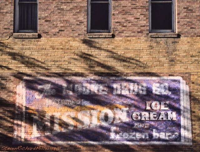 Wall, Flagstaff, AZ, circa 1980