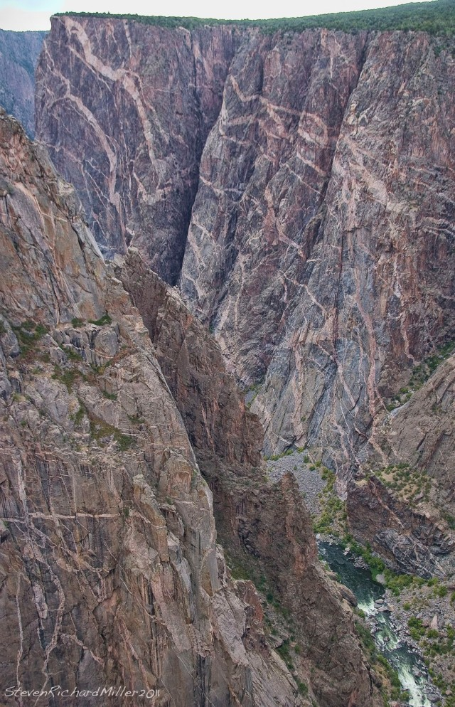 The Painted Wall, Black Canyon of the Gunnison, CO