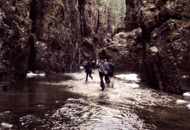 Returning upstream