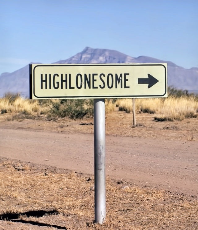 Sign to Highlonesome