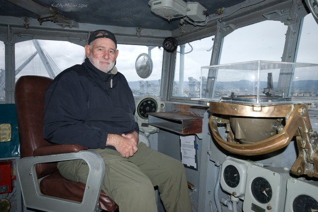 Steve, in the Captain's chair
