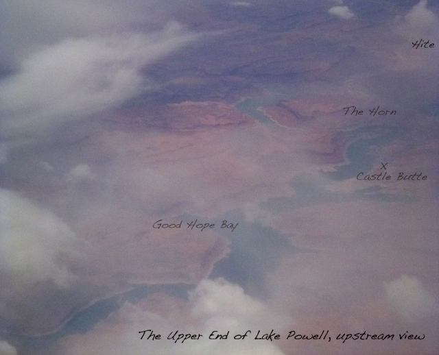 Upper end of Lake Powell