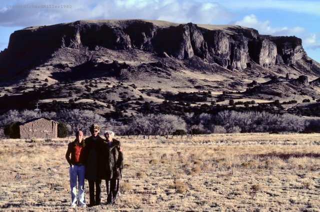 Kathy and the folks, Black Mesa