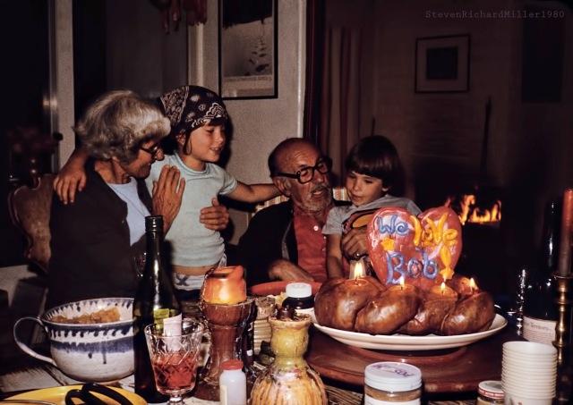 From left: Kenna Miller, Laina Reynolds, Bob Miller, Brahm Reynolds