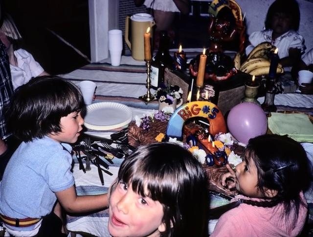 Brahm's 5th Birthday, 1979