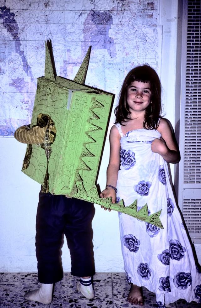 Brahm's Halloween get-up, 1979