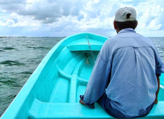 Heading back south, to Montechristo Lagoon, Sept. 2009