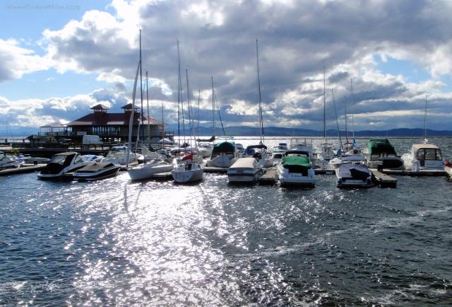 The Burlington Harbor