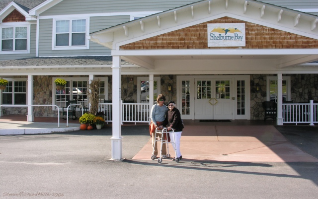 Shelburne Bay Senior Living Center, Mom and Kathy