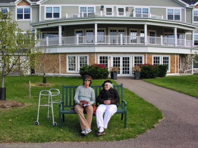 Shelburne Bay Senior Living Center, Mom and Kathy