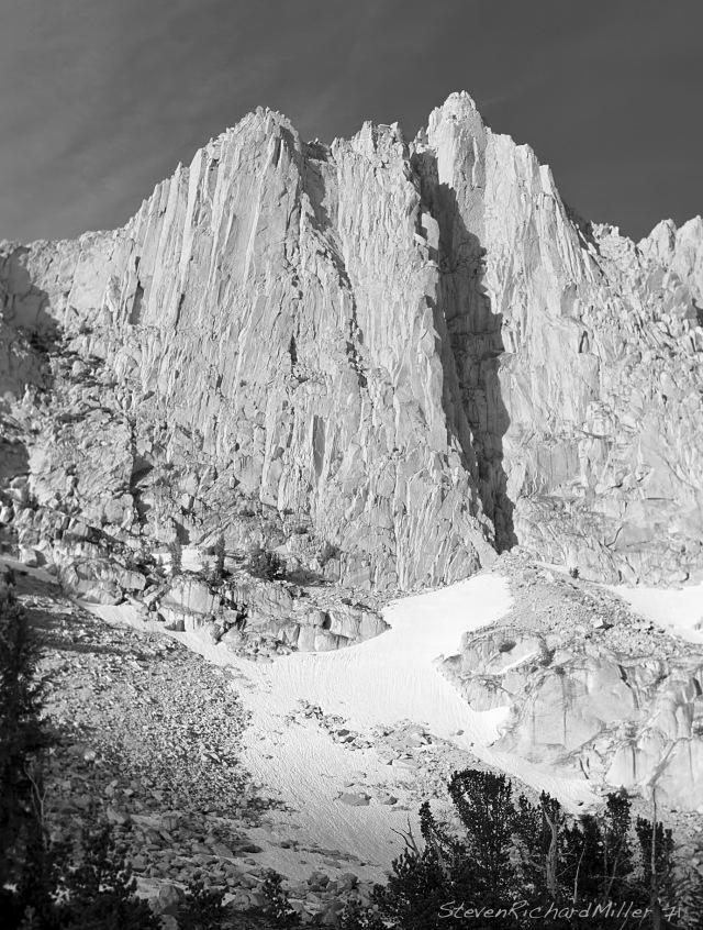 Ehrnbeck Peak sits east of Tower Peak