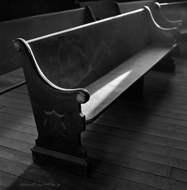 Church pew #1