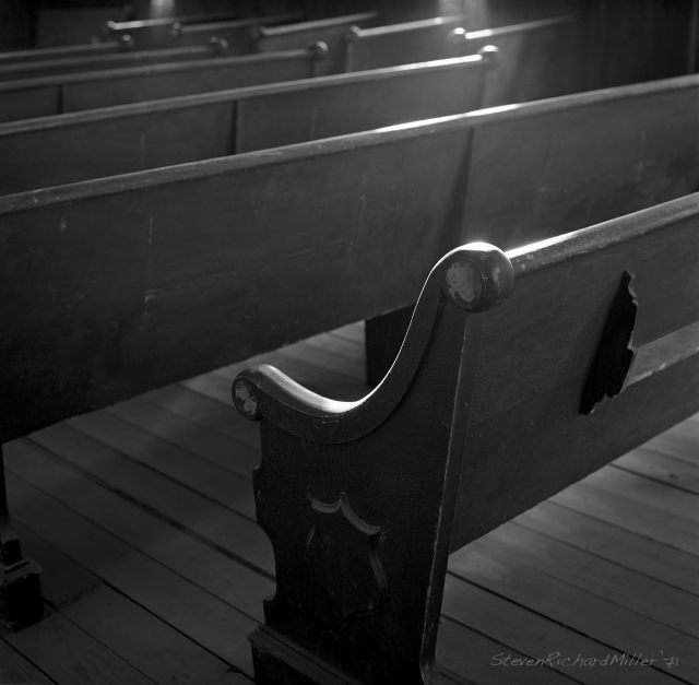 Church pew #2