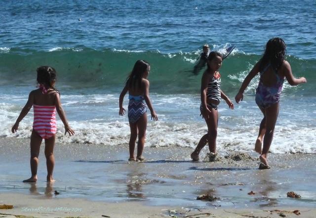 Bathers, Gaviota Beach