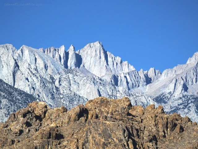 Mt. Whitney, from Lone Pine