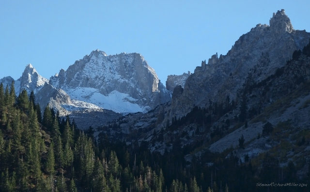 Sawtooth Ridge, from Twin Lakes
