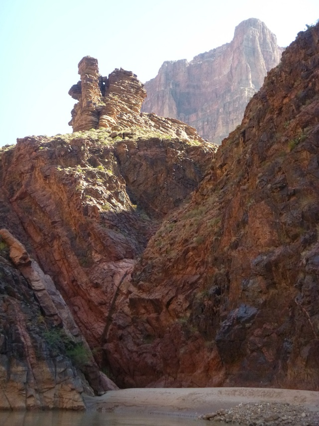 The mouth of Garnet Canyon, river left at Mile 115.1