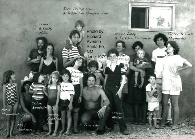 Photo by Richard Avedon, Santa Fe, NM, June 1979