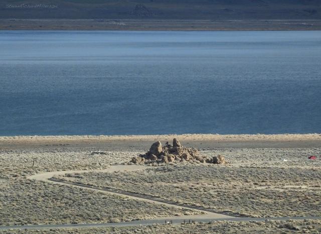 Approaching Pyramid Lake