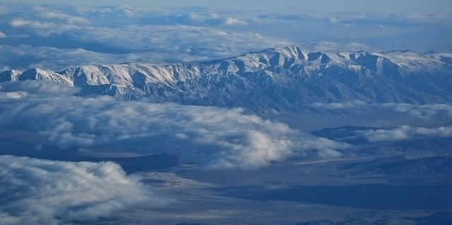 White Mtns. and the Owens Valley