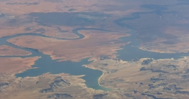 6.Wahweap Marina, Lake Powell, UT. View of the southern end of the lake.