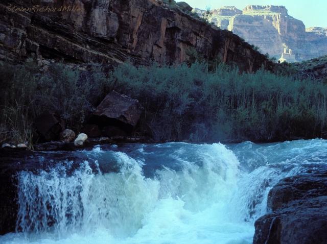 Tapeats Creek high water, summer 1980