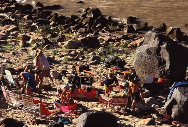 Tapeats Creek, lower camp