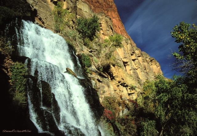 Thunder River upper falls