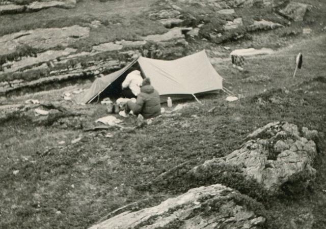 Camping at Plan des Aiguilles