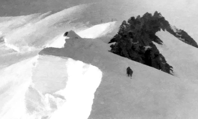 2. Mt.Blanc, Arete des Bosses