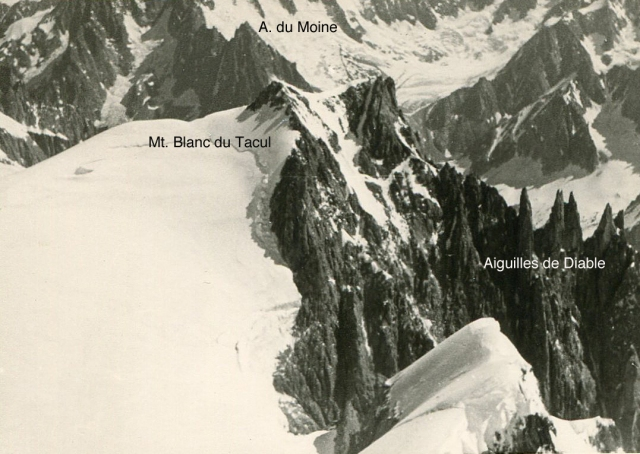 8.5. Mt.Blanc du Tacul from Mt. Maudit