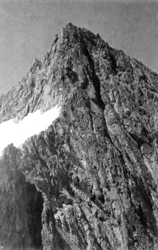 Aig.de Soreiller, from the summit of the Dibona