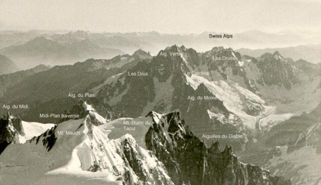 9. Mt.Maudit & Blanc du Tacul etc
