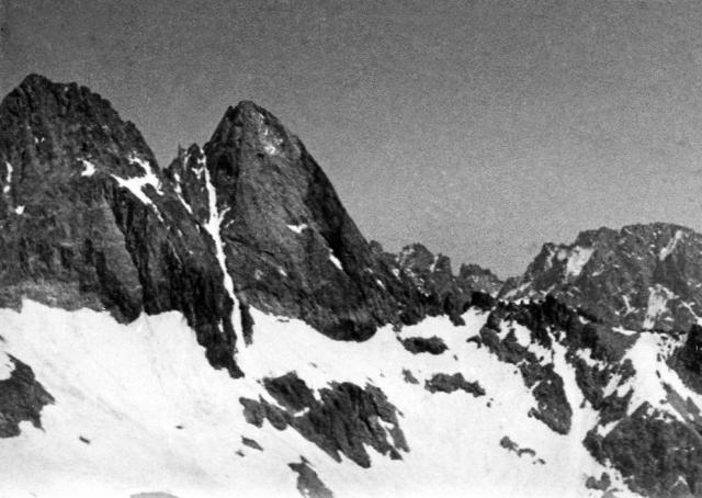 Other peaks near Aig.de la Dibona