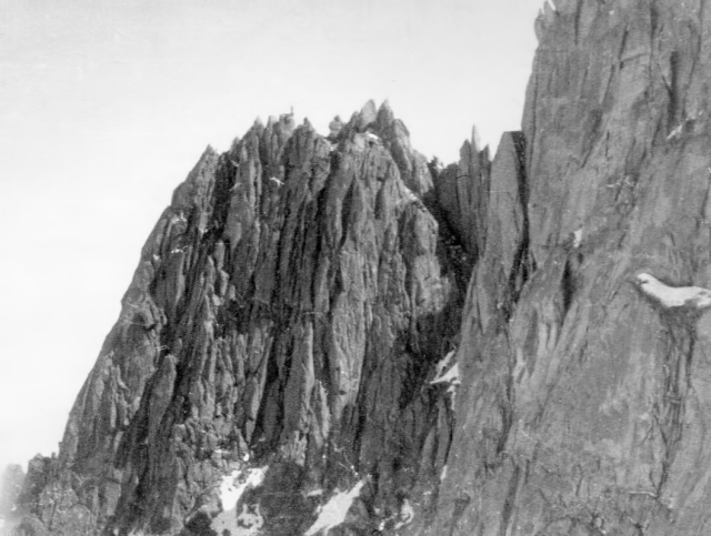 Aiguille des Grandes Charmoz, from the Blaitiere