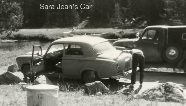 Sara Jean's car
