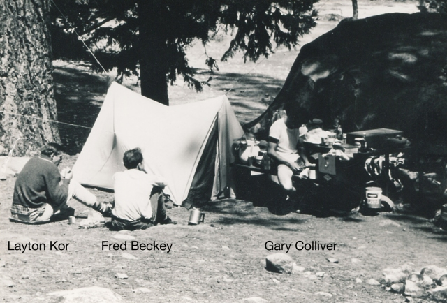 Camp 4, Fred Beckey and Layton Kor