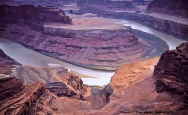 Deadhorse Point State Park, April, 1965