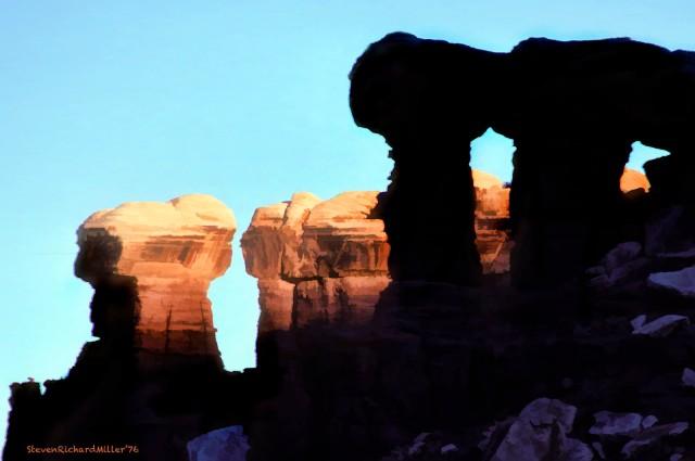Canyonlands White Rim caprocks