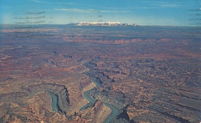 Canyonlands (postcard), April12, 1965