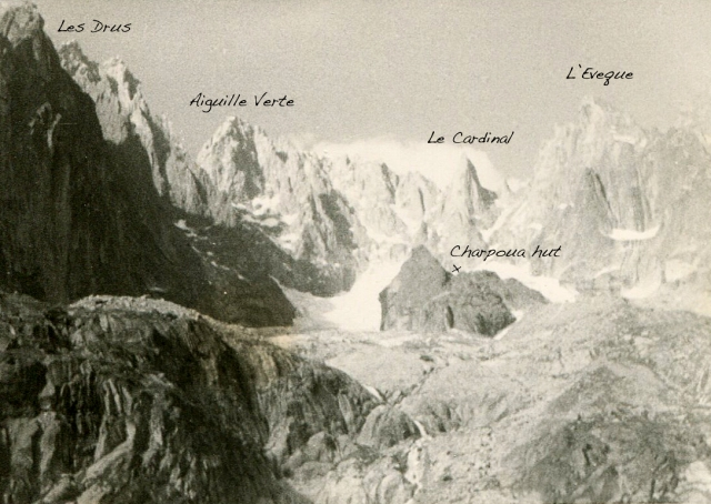 Charpoua hut approach, July 28, 1962 copy