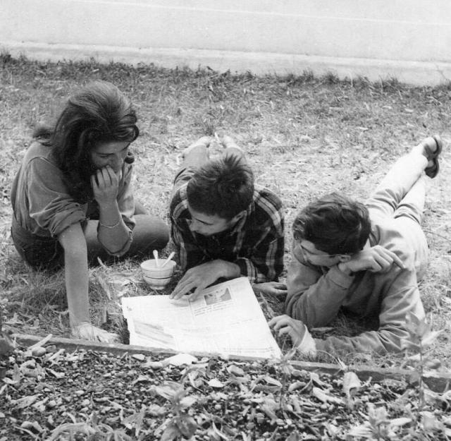 Eglantine, Michel and Daniel, Ayze, France