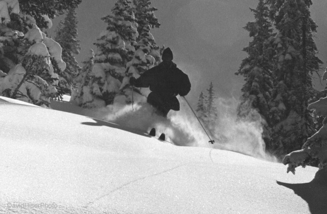 Me, Face of Bell, Aspen Mountain, 1965