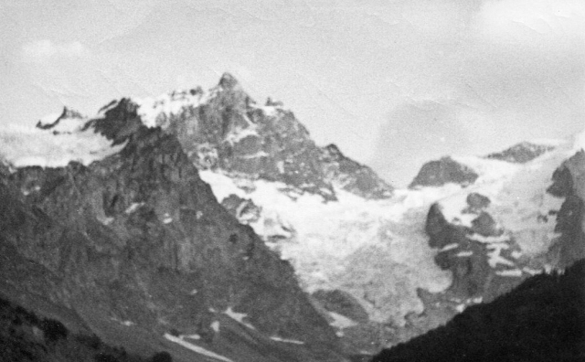 The north face of La Meije, from La Grave