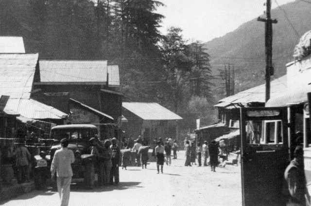 Manali main street, Sept. 1963