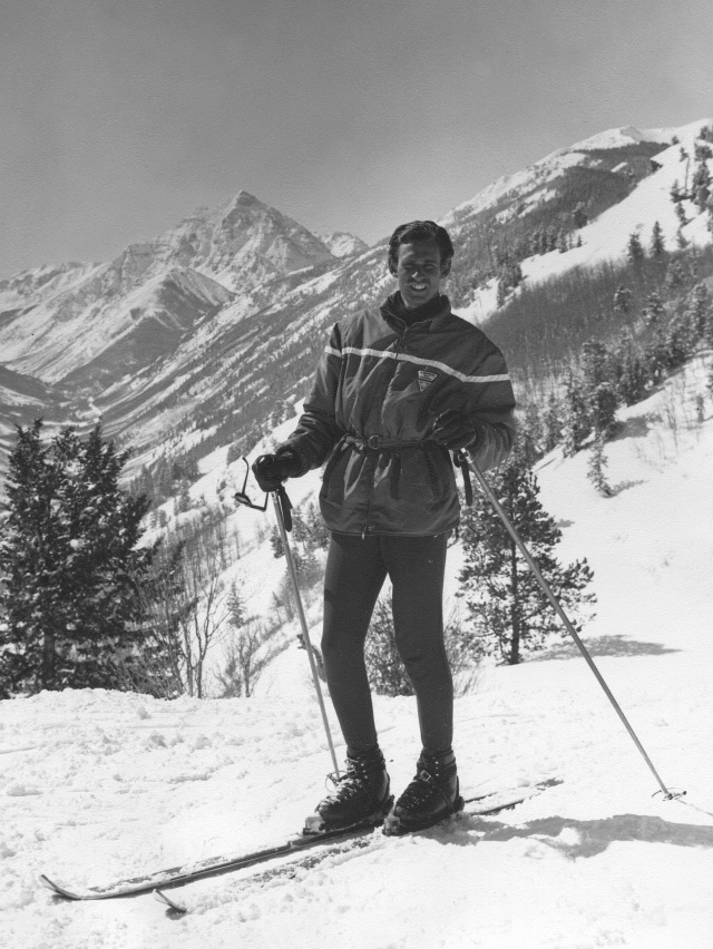 Me, Buttermilk Mtn., Aspen Ski School, 1965