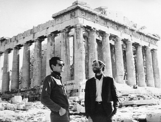 The Parthenon, Athens, Greece, Jan.1962